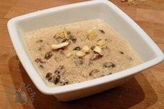 Almond soup // Zupa migdałowa