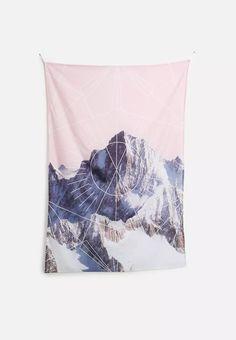 Geometric Peaks Wall Hanging