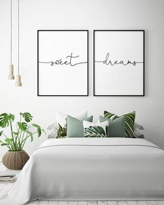 art above bed / art above bed . art above bed master . art above bed ideas . art above bed boho . art above bed diy . art above bed size . art above bed king Bedroom Decor, Bedroom Wall Art, Bedroom Wall, Bedroom Inspirations, Modern Bedroom, Above Bed, Spare Bedroom, Small Bedroom, Home Bedroom