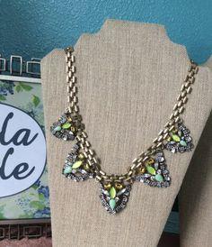 Nakia Bib Necklace · Bella Joule · Online Store • www.bellajoule.com •