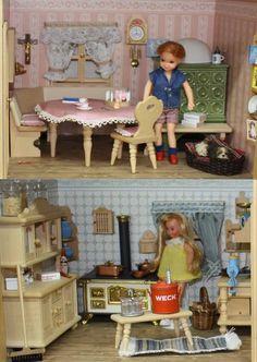 Puppenhaus und Puppenstube