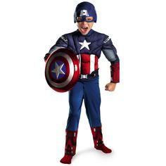 שרירים לילדים מכירה ישירה נוקמי קפטן אמריקה קוספליי פנסי תחפושות ליל כל הקדושים מפלגה