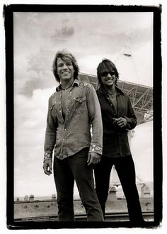 Recent Jon Bon Jovi News | Jon Bon Jovi and Richie Sambora, New Mexico 2002 | Sam Erickson