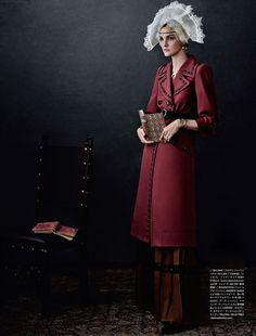 Vogue Japan.  http://www.trendhunter.com/trends/vogue-japan-october