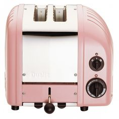 Let's toast to the Dualit 2 Slice NewGen Toaster in Petal Pink, available at the Food Network Store