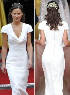 pippa middleton bridesmaid hair - Google Search