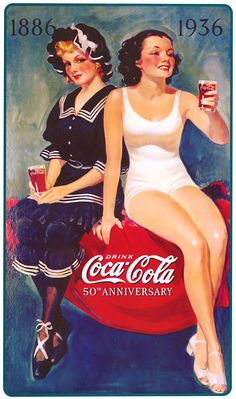 Propagandas antigas da Coca-Cola