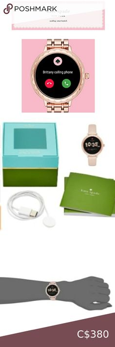 I just added this listing on Poshmark: New Authentic Kate Spade Scallop Smartwatch. #shopmycloset #poshmark #fashion #shopping #style #forsale #kate spade #Jewelry Kate Spade Bangle, Kate Spade Necklace, Kate Spade Rose Gold, Anchor Earrings, Bow Earrings, Art Deco Earrings, Gold And Silver Watch, Time Zones, Gold Bangles