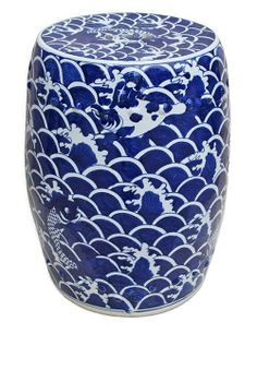 InStyle-Decor.com Chinese Blue  White Porcelain Garden Stools $295. Over 3,500 modern, contemporary designer inspirations, now on line, to enjoy, pin, share  inspire. Including unique limited production, bedroom, living room, dining room, furniture, beds, nightstands, chests, dressers, coffee tables, side tables. Chandeliers, pendants, table lamps, floor lamps, wall mirrors, table décor. Beautiful home décor, home accessories, decorating ideas for interior architects, interior designers  fans