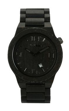 totally obsessed... VOYAGE BLACK | WeWOOD Wooden Watches - The Original Wood Watch $140