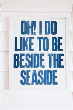 Seaside theme