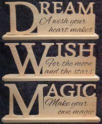 Dream, Wish, Magic Set