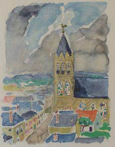 L'église de Combray