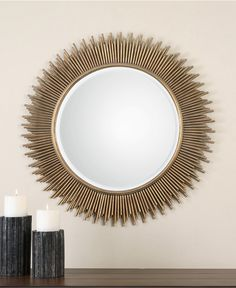 Uttermost Marlo Mirror... because the way you see yourself should always be beautiful!