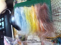 A picture from one of my customers working with Happy Cetta Fiber.  To see more go to www.happycetta.com