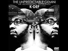 K-Def - The Unpredictable Gemini: An Instrumental Experience Limited Edition Colored Vinyl LP