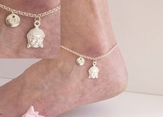 Silver initial buddha anklet buddha anklet ankle bracelet silver anklet anklet beach jewellery anklet yoga jewellery by StatementMadeUK Anklet Jewelry, Yoga Jewelry, Beach Jewelry, Jewellery, Gifts For Your Sister, Mum Gifts, Auntie Gifts, Sister Gifts, Family Gifts