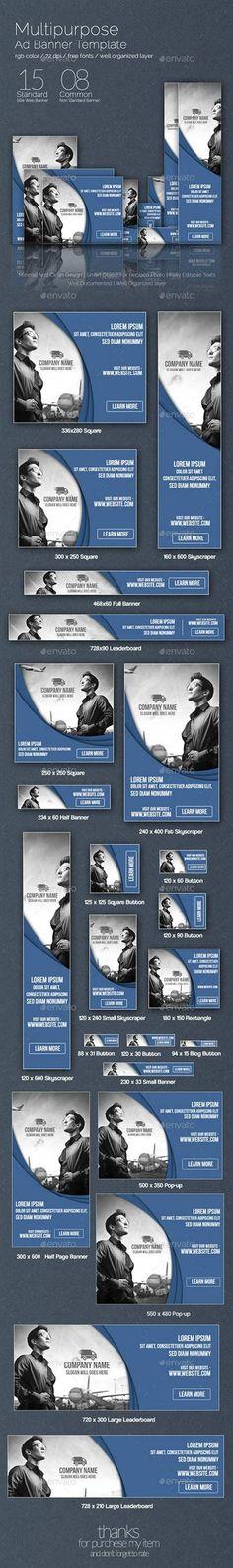 GraphicRiver - Multipurpose Web Banner 8878826
