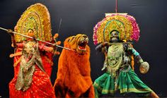 Chhau Dance in India.