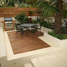 Contemporary Chic Garden