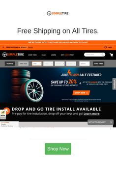Best deals and coupons for SimpleTire Tires Online, Firestone Tires, Discount Tires, New Tyres, Tired, Coupons, September, Free Shipping, Coupon
