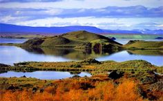 """Myvatn, near the town of Akureyri (riddled with consonants, Icelandic words are not easy to tackle, but saying \""""mee-VAHT\"""" and \""""ah-KOO-ray..."""
