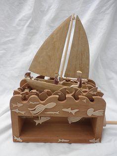 Sailboat Automata 2009   by Wanda Sowry