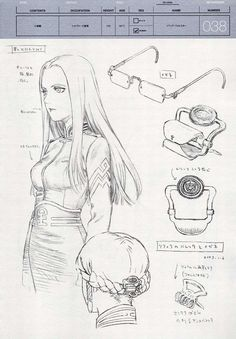 Last Exile Sophia Character Concept