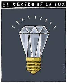 El recibo de la luz