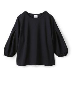 haco!(ハコ)の「袖タックがきれいなポンチトップス(Tシャツ・カットソー)」です。このアイテム着用のコーディネートをチェックすることもできます。