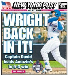 Wright back in it Ny Mets, New York Mets, Lets Go Mets, Baseball League, National League, World Of Sports, World Series, Letting Go, Haha