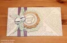 Briefumschlag Stampin Up Envelope Punch Karte Letter Card