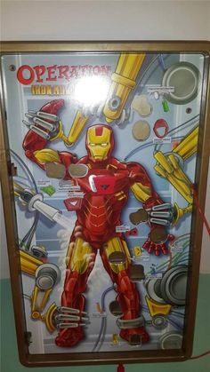 Hasbro Kids Operation Iron Man 2 2010 Battery Operated Vintage Toy Game Complete #Hasbro Iron Man 2 2010, Battery Operated, Vintage Toys, Board Games, Fun, Kids, Ebay, Role Playing Board Games, Children