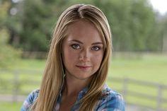 Amber Marshall as Amy Heartland Season 11, Watch Heartland, Amy And Ty Heartland, Heartland Cbc, Heartland Ranch, Amber Marshall, Blake Lively, Heartland Characters, Ty E Amy