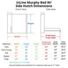 InLine Murphy Bed with Hutch and InLine Sofa – Top Trend – Decor – Life Style Murphy Bed Couch, Murphy Bed Ikea, Murphy Bed Plans, Inline, Fabric Sofa, Cushions On Sofa, Modern Murphy Beds, Diy Sofa, Decorate Your Room