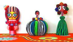 contemporary art sculpture - soft sclpture, mixed media by Nufar Livny Laskov