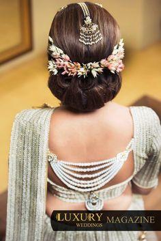 Latest Hairstyles For Wedding Party Sri Lanka On Creative Hairstyles Ideas - Maatkara Design Indian Wedding Hairstyles, Bride Hairstyles, Hairstyles Haircuts, Hairstyle Ideas, Creative Hairstyles, Latest Hairstyles, Hair Brooch, Bridal Hairdo, Hot Hair Styles