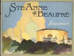 Ste Anne de Beaupre Postcard Pack - 1945