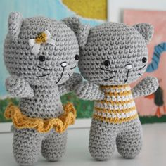 Small Amigurumi Cat - Free Pattern                                                                                                                                                                                 More