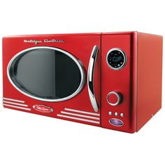 Clinton Retro Microwave in Red for $94.95 for the next 2 days!