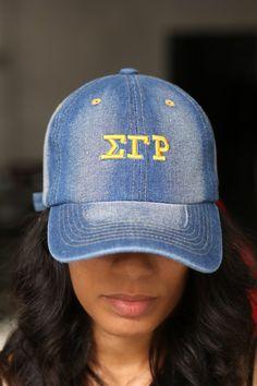 17af12ac602ec My ΣΓΡ Jeans polo dad hat
