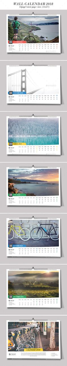 Wall Calendar   Calendar  Ai Illustrator And Template