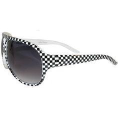 Checkerboard Speed Racer, NASCAR, Elvis Sunglasses
