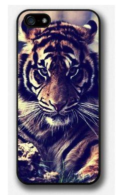 iPhone 4 4S 5 5S 5C case, Tiger