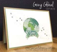 #GDP019 Global Design Project Love Theme Challenge featuring Going Global stamp set from Stampin' Up!
