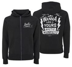Arctic Monkey's 'I Wanna Be Yours' hoodie.