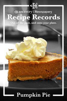 Easy Pie Recipes, Pumpkin Pie Recipes, Other Recipes, Sweet Recipes, Cake Recipes, Dessert Recipes, No Bake Pumpkin Pie, Pumpkin Dessert, Pie Dessert