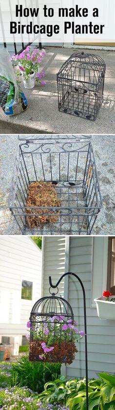 Use A Bird Cage