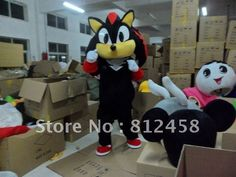 2012 New Sonic the Hedgehog  Mascot Costumes Character Adult Size  Halloween Costume Prop Fancy Dress Suit Free Shipping