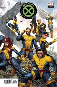 Powers of X by Jorge Molina - Marvel Comics. Marvel Comics Art, Marvel Comic Universe, Bd Comics, Comics Universe, Marvel Heroes, Marvel Xmen, Comic Movies, Comic Books Art, Comic Art